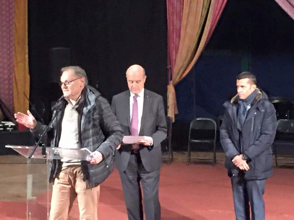 Inauguration Alain Juppe