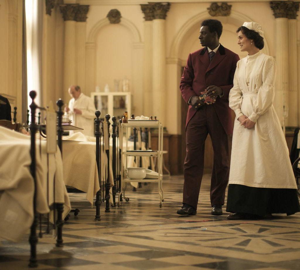 Omar Sy Clotilde Hesme Film Chocolat