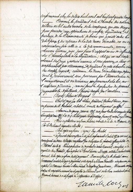 Divorce De Marie Hecquet