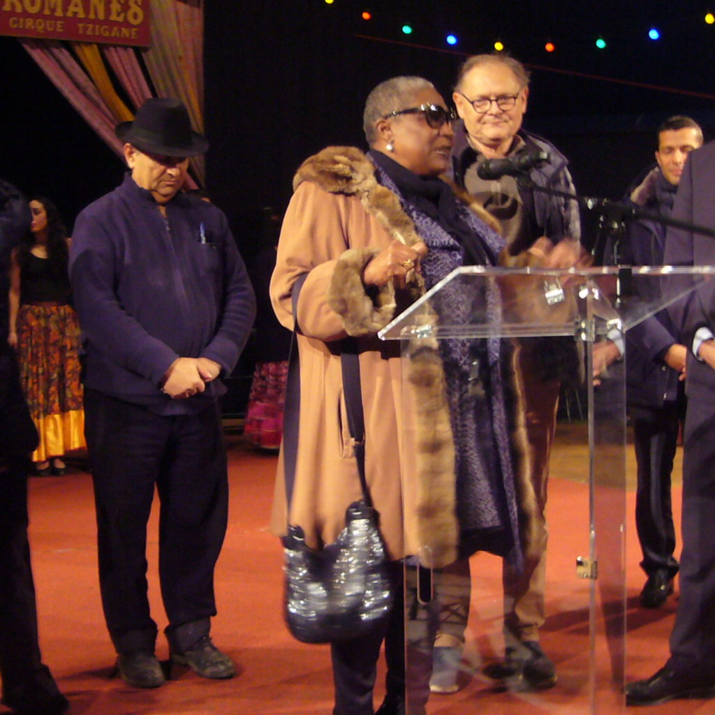 Inauguration Place Clown Chocolat Firmine Richard Avec Alain Juppé