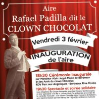 Inauguration Place Clown Chocolat