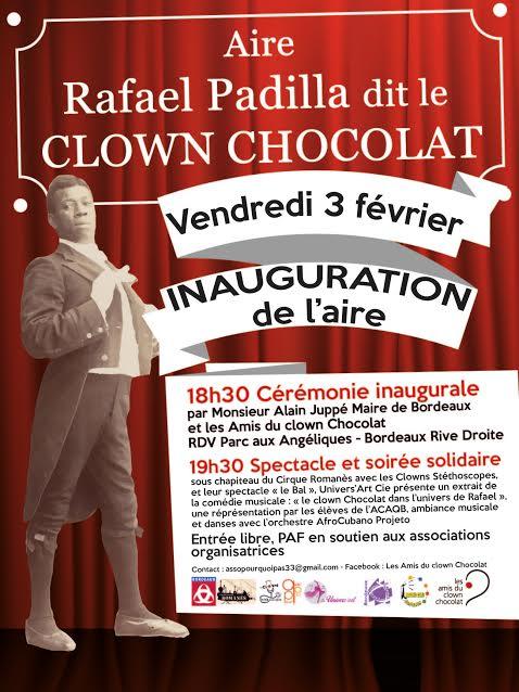 Inauguration Place Clown Chocolat