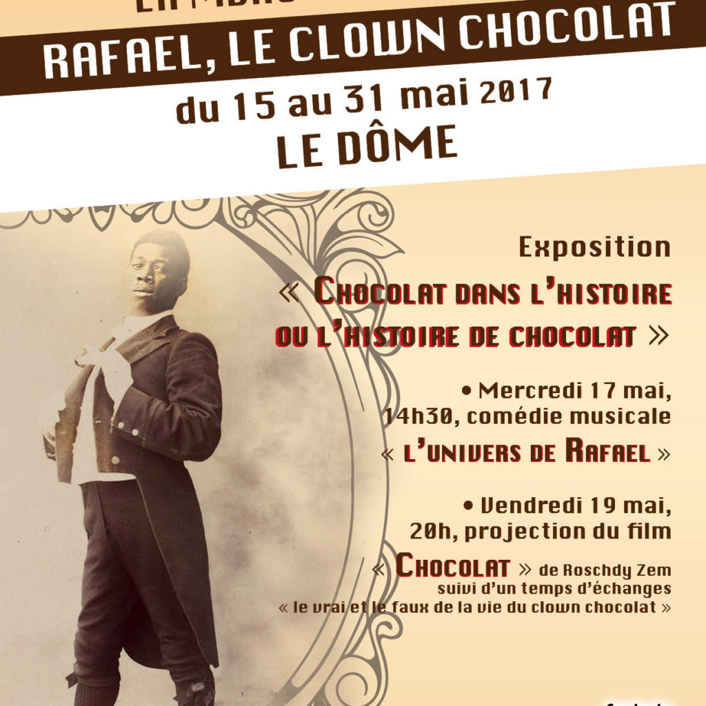 Affiche Clown Chocolat