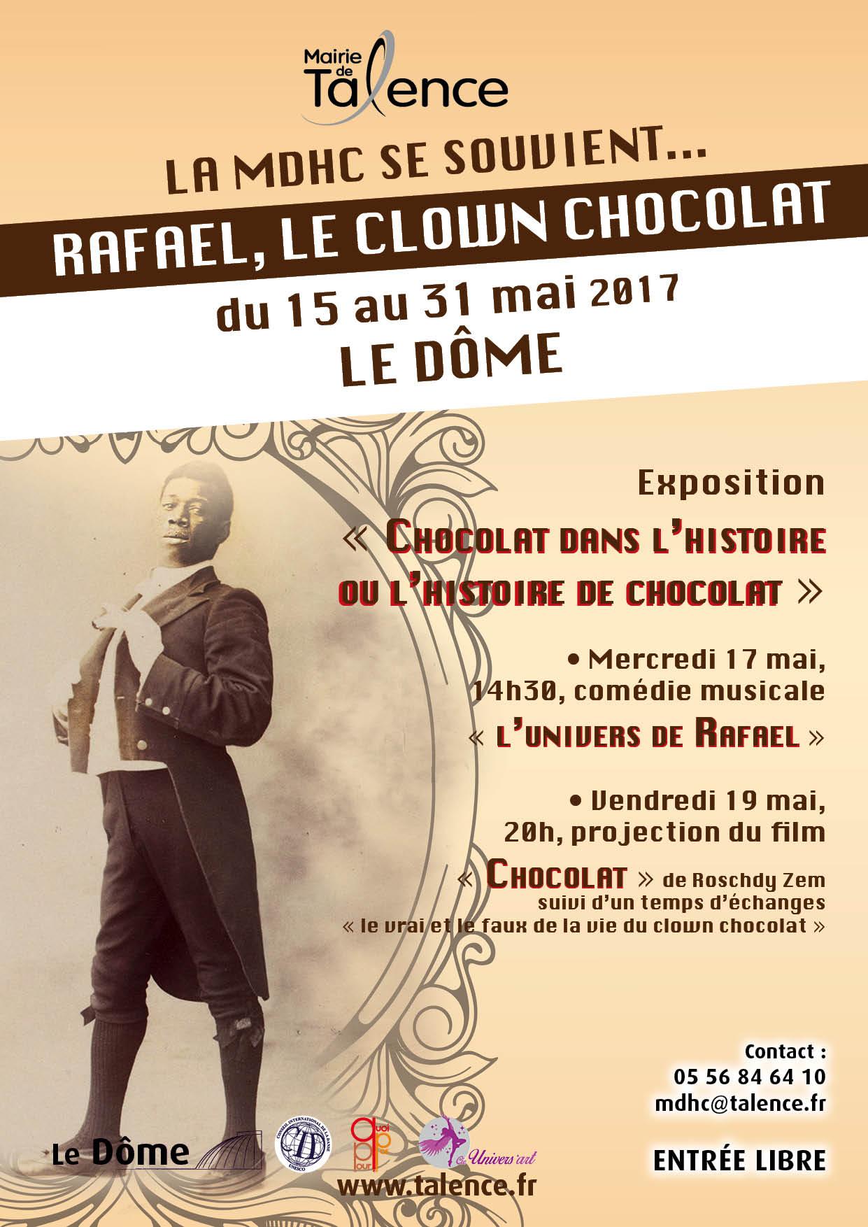 Le Clown Chocolat Au Dôme De Talence Du 15 Au 31 Mai