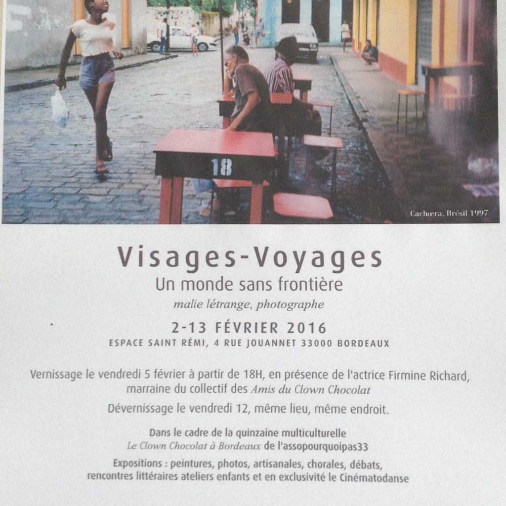 Visages Voyages Un Monde Sans Frontières Malie Létrange