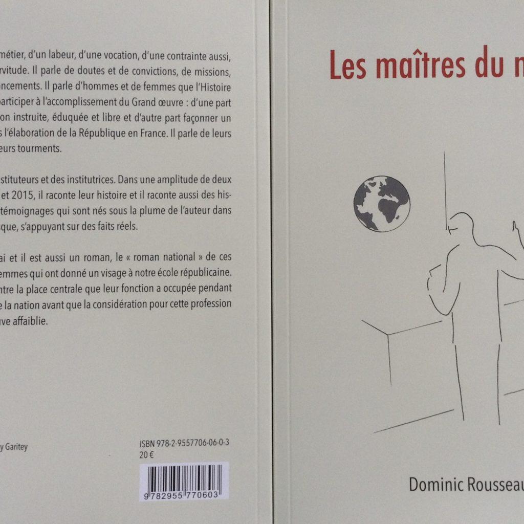Dominic Rousseau Les Maîtres Du Monde