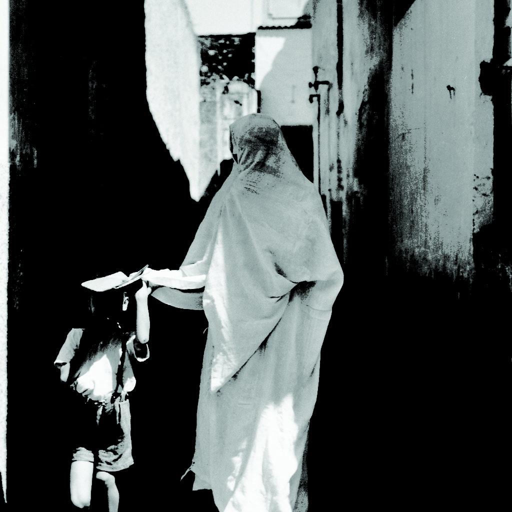 Sur Le Chemin De L'école Tlemcen - Algérie 1950