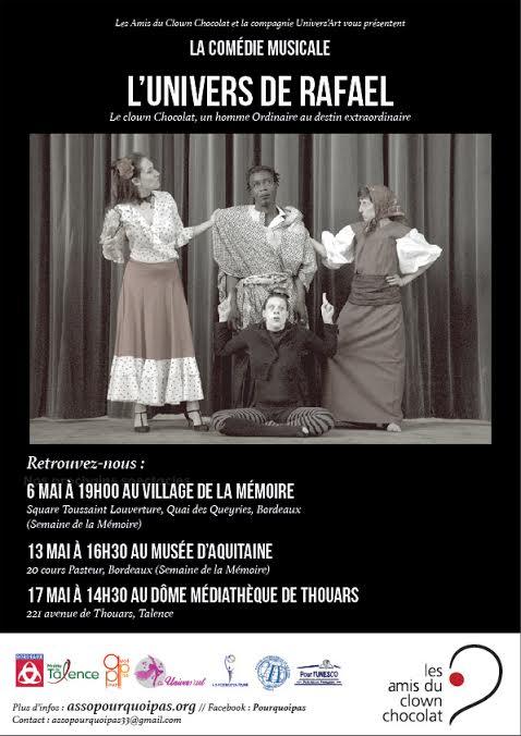 Comédie Musicale L'Univers De Rafael