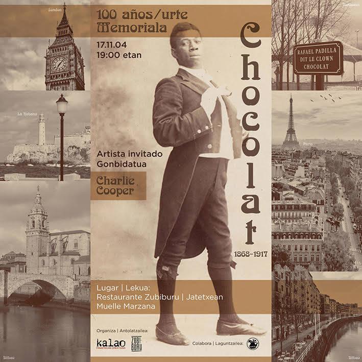 Hommage à Chocolat à Bilbao