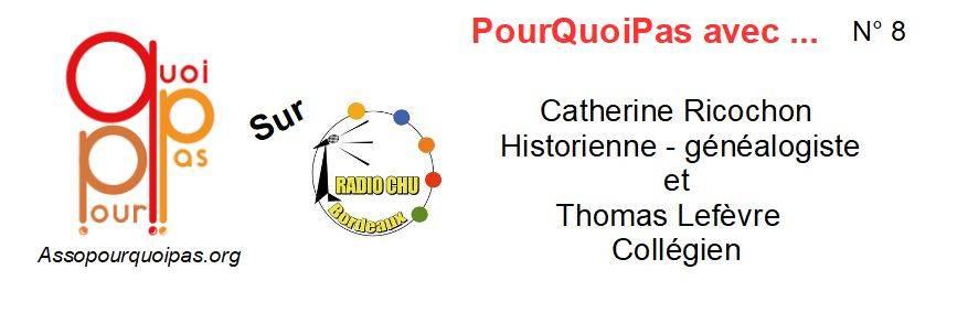 2018 02 Radio CHU Catherine Ricochon Thomas Lefèvre