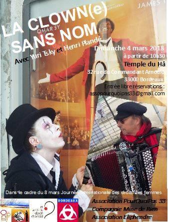 La Clown(e) Sans Nom Sur RCF Bordeaux (88.9)