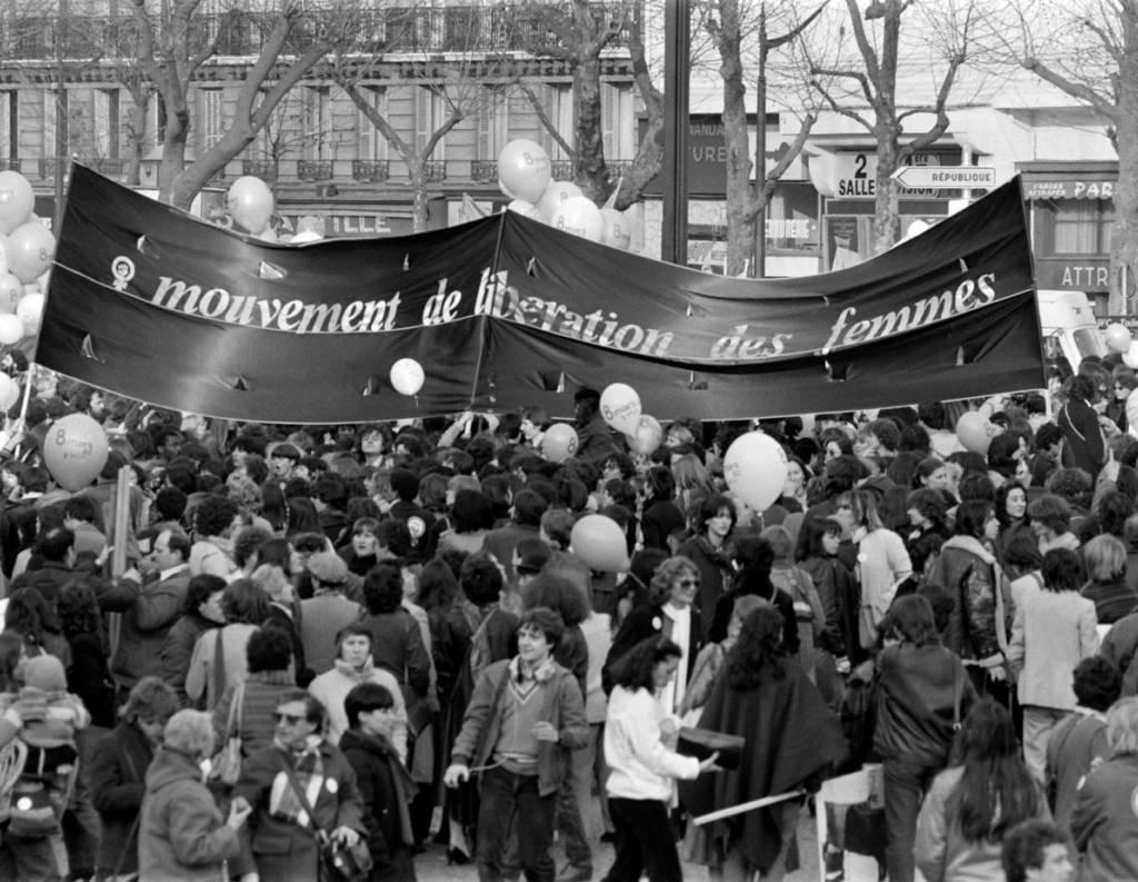 Manif Années 70 Féminisme