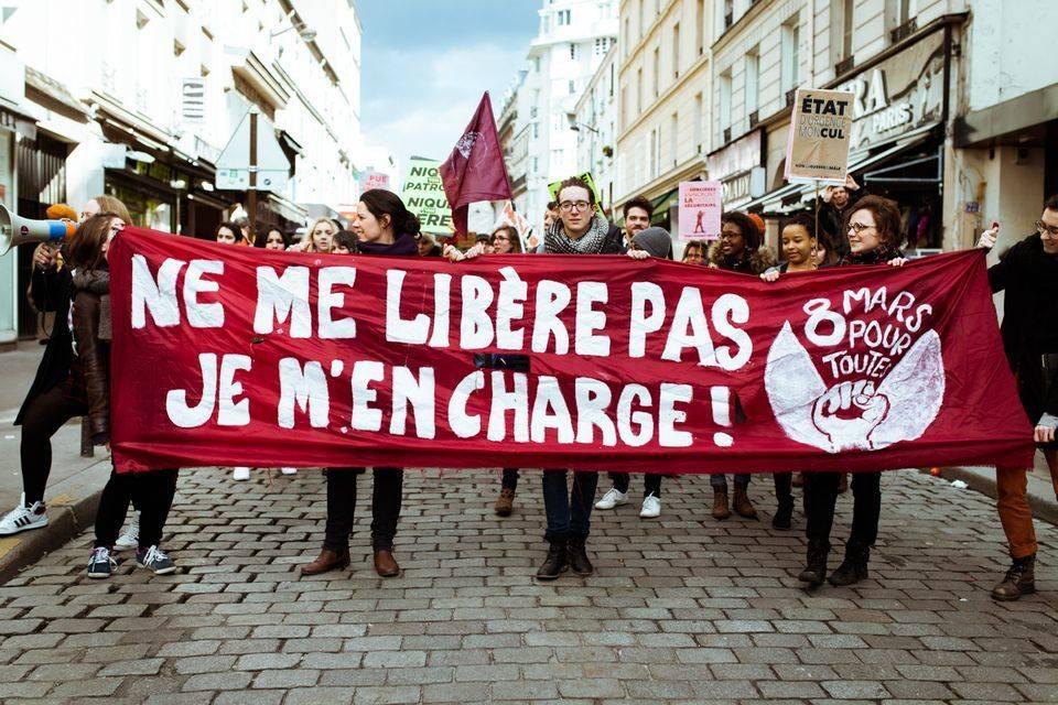 Manif Paris Belleville