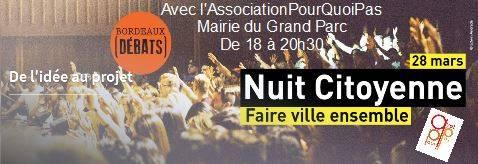 28 Mars Nuit Citoyenne Avec L'assoPourQuoiPas