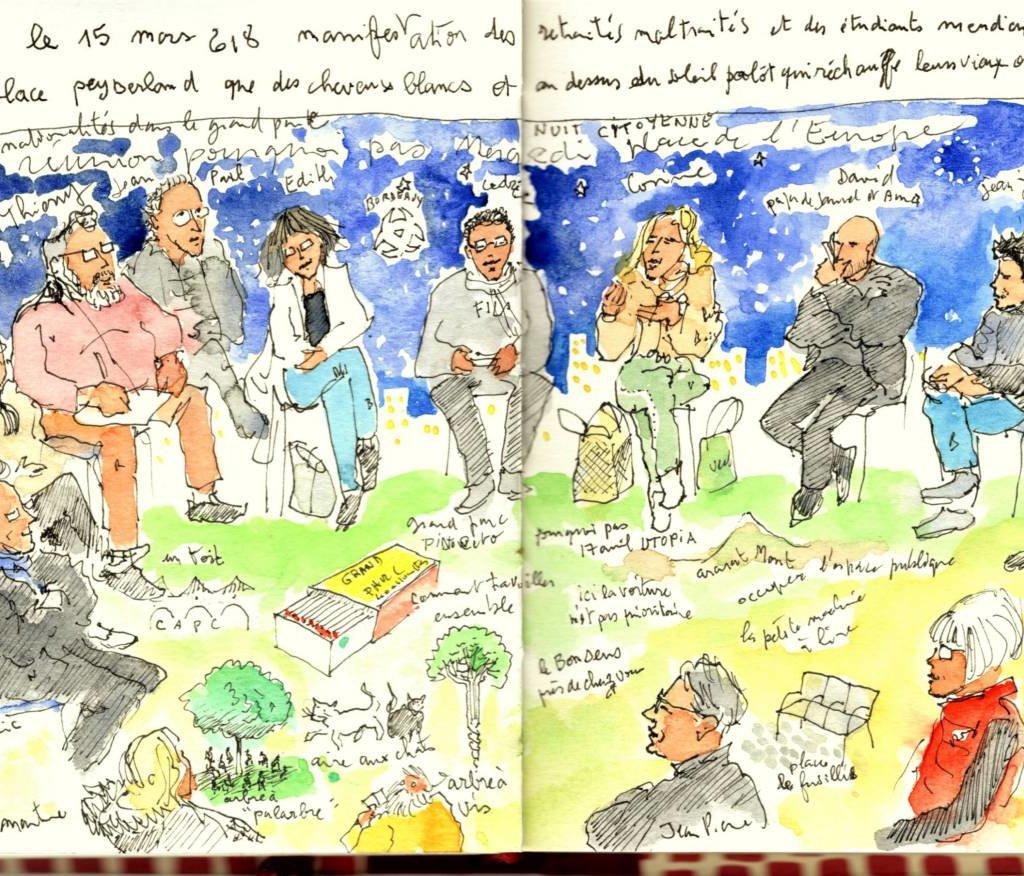 Nuit Citoyenne Au Grand Parc