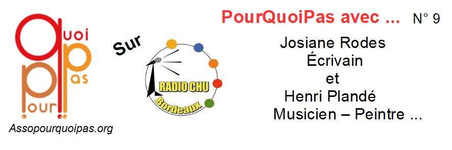 PourQuoiPas Avec …. Josiane Rodes Et Henri Plandé