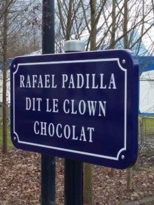 Aire Rafael Padilla dit le Clown Chocolat