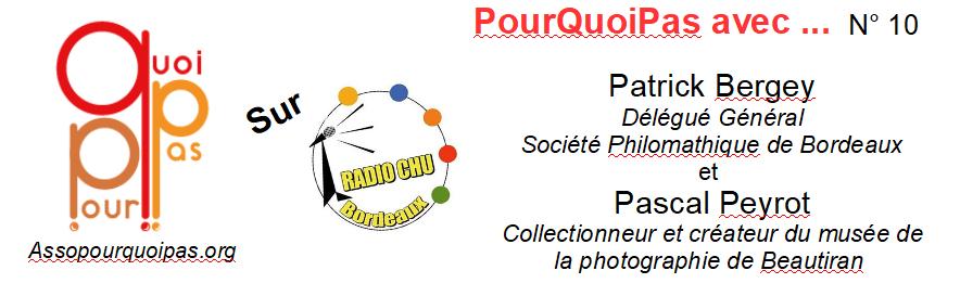 Radio CHU 10 Pascal Peyrot Patrick Bergey