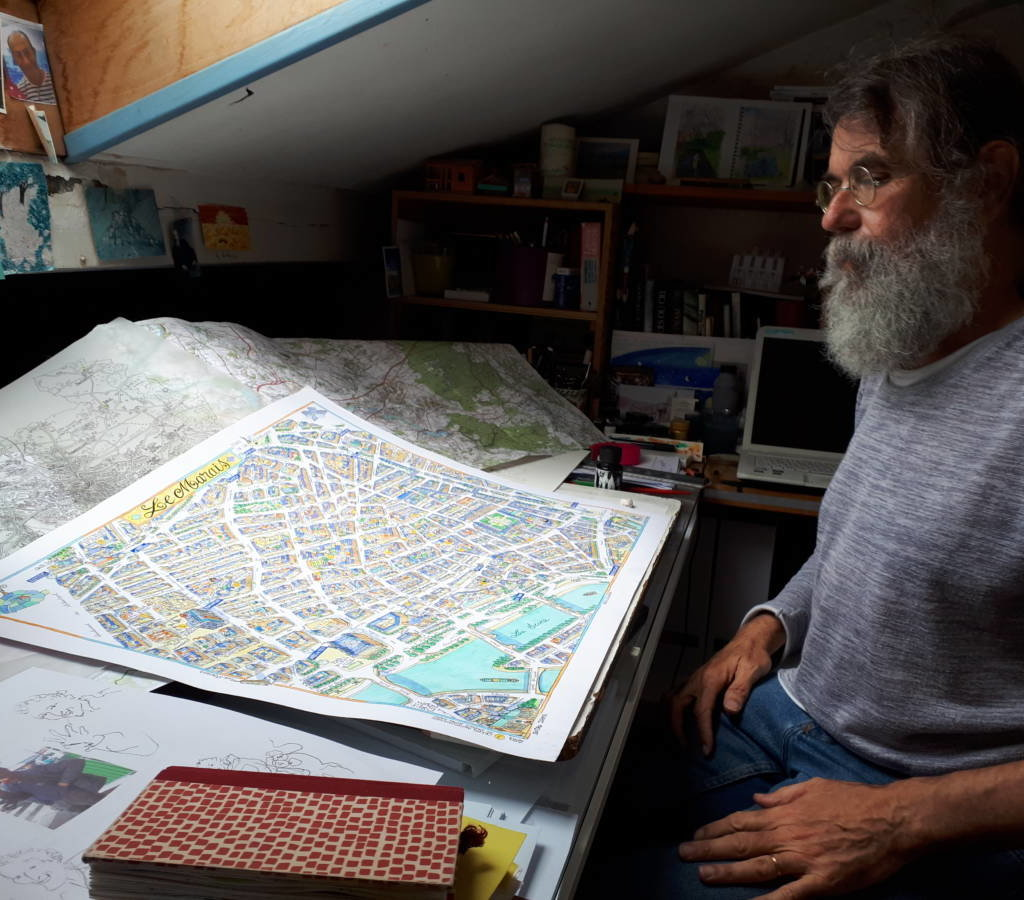 Bernard Deubelbeiss Dans Son Atelier Phare De La Place Gambetta