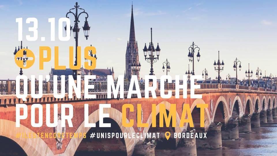 2018 10 13 Marche pour le climat Bordeaux