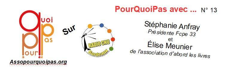 PourQuoiPas Avec … Stéphanie Anfray Et Elise Meunier