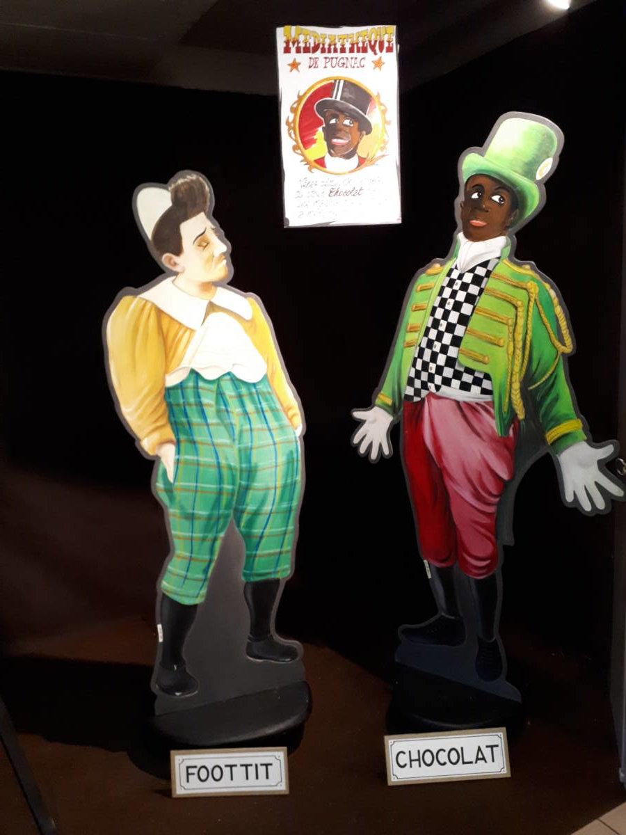 Un Salon Avec Le Clown Chocolat à Pugnac