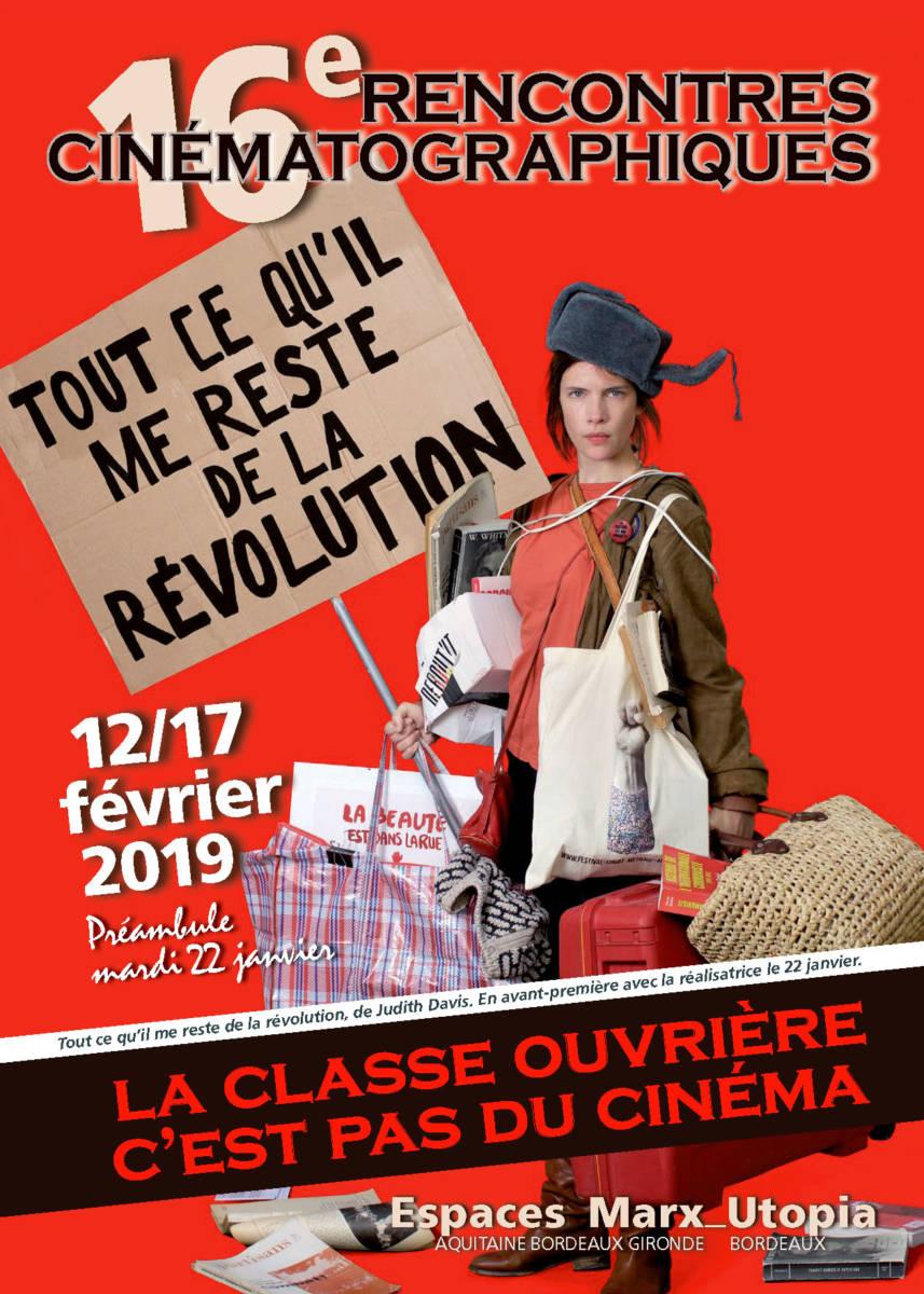 16°rencontre La Classe Ouvrière C'est Pas Du Cinéma