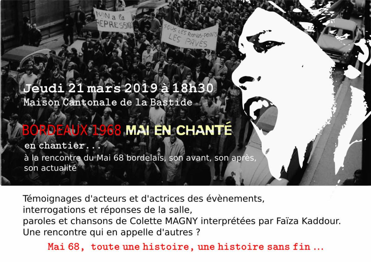 Bordeaux 68, Mai Enchanté