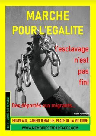 Marche Contre L'esclavage 11 Mai
