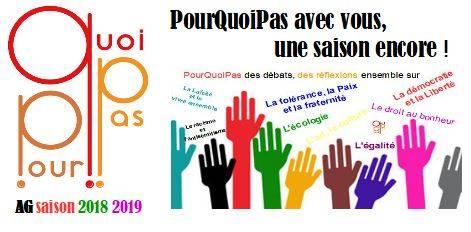 AG de l'association Les activité de PourQuoiPas saison 2018/2019