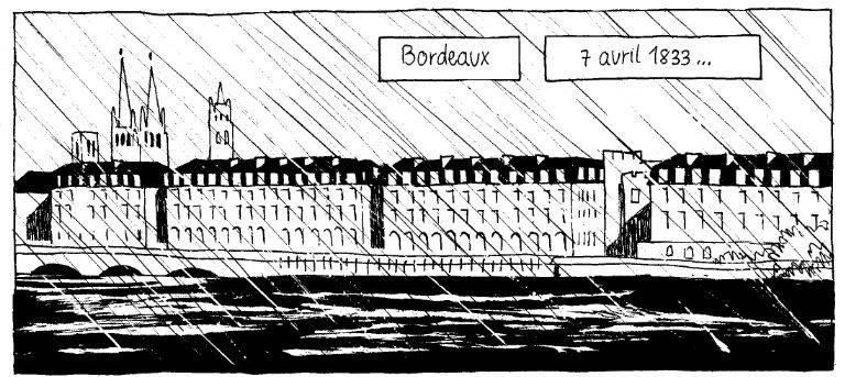 Les Quais De Bordeaux à L'époque De Flora