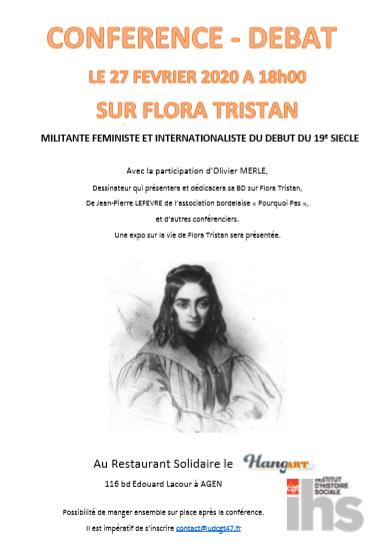 2020 02 27 Flora Tristan à Agen