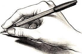La main l'outil atelier d'écriture