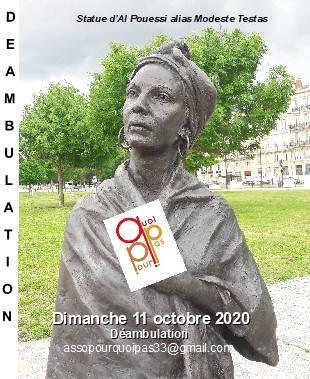 Déambulation dimanche 11 octobre 2020