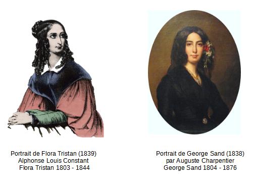 Flora Tristan Et Georges Sand