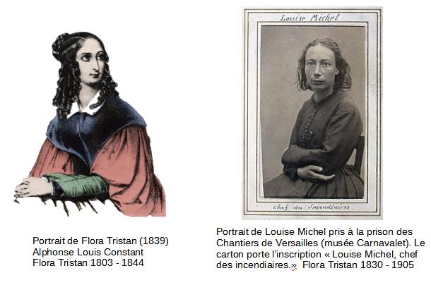 Flora Tristan Et Louise Michel