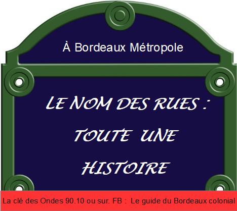 Renommer L'avenue Thiers à Bordeaux