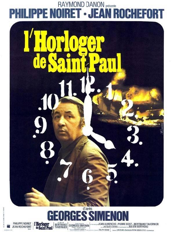 Bertrand Tavernier Hommage L'horloger De Saint-Paul, Affiche
