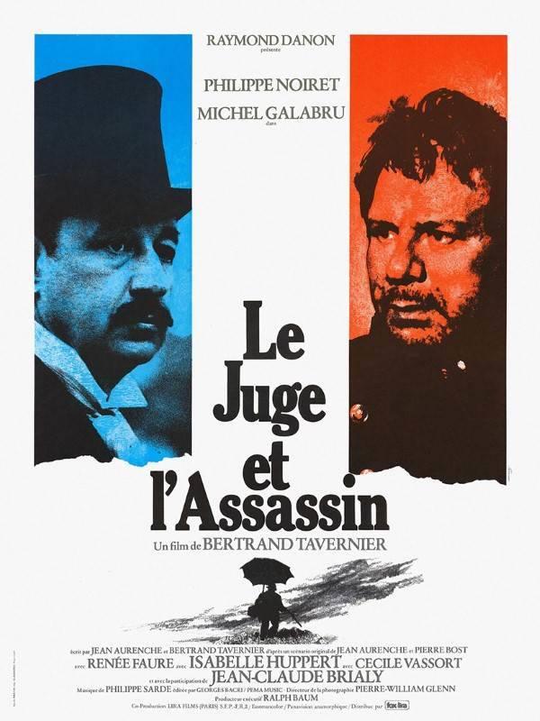 Bertrand Tavernier Hommage Le Juge Et L'assassin, Affiche
