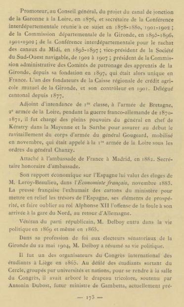 Alfred Pierre Delboy Livre D'or De La Gironde