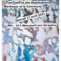 Déambulation La Commune Et Bordeaux