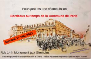 2021 05 01 flyer déambulation Bordeaux et la Commune de Paris