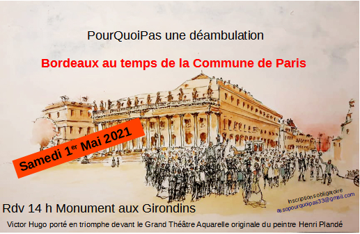 2021 05 01 flyer déambulation Bordeaux et la Commune de Paris