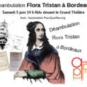 Déambulation Flora Tristan à Bordeaux