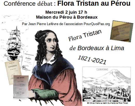 Flora Tristan au Pérou conférence