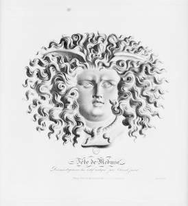 Tête de Méduse, par André Chazal
