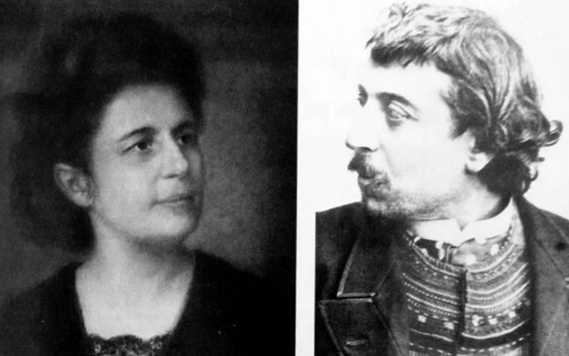 Marie et Paul Gauguin fin du XIXè siècle