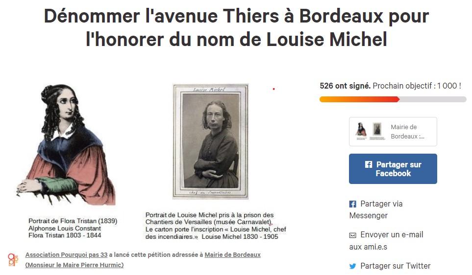 Dénommer L'avenue Thiers