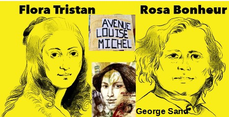 Flora Rosa Bonheur Goeges Sand Louise Michel