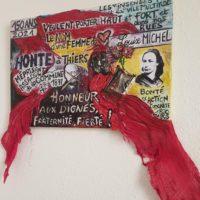 Louise Michel Thiers Tableau By Sandrine Daniel